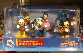 Disney 6 piece Set Mickey Mouse A Christmas Carol's New in Box holiday F... - $24.51