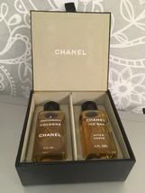 RARE Set of Chanel Gentleman Cologne & After Shave 4.2oz/120ml each vintage - $246.51
