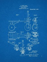 Child's Vehicle Patent Print - Blueprint - $7.95+
