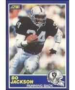 1989 Score Bo Jackson Football Card #2 - Shipped In Protective Display C... - $4.99