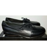 P.W. Minor CAMEO Black Leather Lace Therapeutic Casual Shoe Size 6.5 W - $49.49