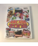 Arcade Zone (Nintendo Wii 2009) Rated E 4 Players Retro Activision Video... - $29.69
