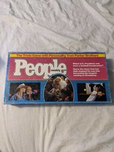 Vintage 1984 People Weekly Trivia Board Game Parker Brothers Almost Comp... - $25.95
