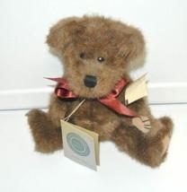 Boyds Bears Paxton B. Bean 510300-05 10'' Bear Teddy Plush Stuffed Anima... - $19.75