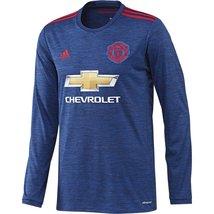 2016-2017 Man Utd Adidas Away Long Sleeve Shirt - $97.26