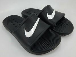 Nike Kawa Shower Size US 6 M EU 36.5 Women's Slide Sandals Black 832655-001 - $29.69