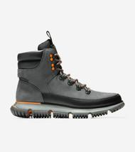 Cole Haan Men's 4Zerogrand Waterproof Hiker Boot Gray Pinstripe C31847 - $212.50