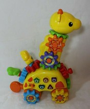 VTech Gear Zooz Spin & Laugh Gearaffe Giraffe Toy 120 Songs Phrases 1.5-... - $22.64