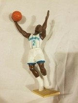Larry Johnson Charlotte Hornets Starting Lineup SLU NBA Vintage Action F... - $12.73