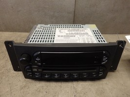 2005 CHRYSLER PACIFICA RADIO RECEIVER CD 05094564AB - $60.00