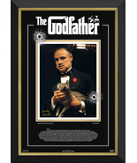 Marlon Brando - The Godfather - Framed Ltd Ed /172 - Facsimile Autograph - $405.00