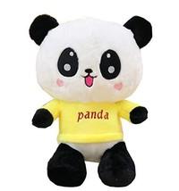 George Jimmy Creative Panda Dolls Lovely Animal Stuffed Toys Girl Gift, Yellow - $30.55