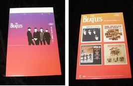The Beatles The Captiol Albums Vol 1 Table Tent Promo 2004 - $14.99