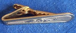 Vintage Collectible Gold Tone Metal Men's Tie Clip - $7.69