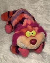 Disneyland Cheshire Cat Alice In Wonderland Stuffed Plush Disney World Vintage - $27.98
