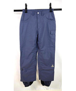 BOMBSHELL Purple Heavy Nylon Ski Snow Board Winter Sports Lined Pants Men M - $19.79