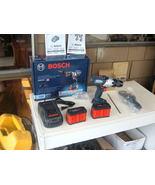 """BOSCH 18V HDH183-B24 1/2"""" H-DRILL-DRIVER KIT W/ 2 6.3 AH BATTERIES & CHA... - $284.05"""