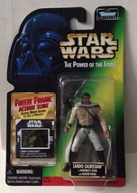 Star Wars Power of the Force POTF2 Freeze Frame Lando Calrissian General .01 - $7.56