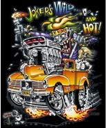 Rat Fink-Jokers Wild on a Large Black Tee Shirt - $23.00