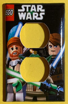 Lego Star Wars Light Switch Duplex Outlet Power wall Cover Plate Home decor image 2