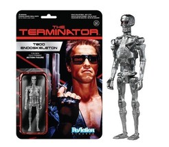 Terminator Movie T-800 Endoskeleton ReAction Action Figure Funko 2014 MOC SEALED - $12.55
