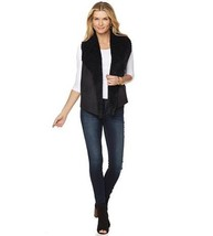 Faith & Zoe Faux Suede Wing Collar Sweater Cardigan BC13  - $44.87
