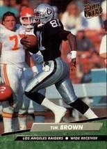 Tim Brown 1992 Fleer Ultra # 188 - $0.98