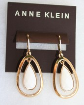 NWT- Anne Klein Teardrop Earrings in Gold - $23.76