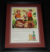 1959 7 Seven Up 11x14 Framed ORIGINAL Vintage Advertisement C - $46.39