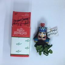 Merry Mistletoes Possible Dreams Nutcracker Soldier Christmas Ornament V... - $21.90