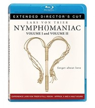 Nymphomaniac: Extended Director's Cut Vol. 1 2 [Blu-ray Disc New]  - $19.99