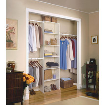 "Closetmaid Vertical Closet Organizer, 24"", White - $1.272,45 MXN"