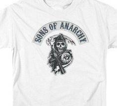 Son of Anarchy American crime TV series Reaper Crew graphic t-shirt SOA103 image 3