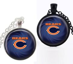 1 NFL Chicago Bears Bezel Pendant Necklace for Gift - $10.99