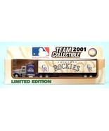COLORADO ROCKIES TRACTOR TRAILER MLB 2001 REPLICA SEMI DIECAST TRUCK 1:8... - $14.99