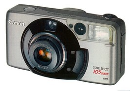 Canon Sure Shot 105 Zoom 35mm Camera - $48.95