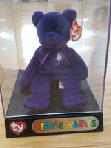 RARE PRINCESS DIANA  BEANIE BABY 1997 TY - 1st Edition MWMT in DISPLAY C... - $80.00