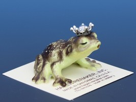 Birthstone Frog Prince Kissing April Diamond Miniatures by Hagen-Renaker image 2