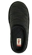Dearfoam Women's Knit Clog Slippers Indoor/Outdoor SMALL 5-6 Black Gel Infused  - $23.75