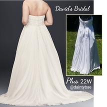 Davids Bridal Wedding Dress Size 22W - $249.00