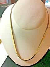 """Beautiful OG Gold Herringbone Necklace Chain 18"""" SKU 070-059 - $13.49"""
