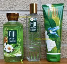 Fiji Pineapple Palm Bath and Body Works Fragrance Mist Body Cream Shower... - $36.00