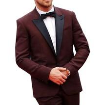 Ryan Gosling Burgundy Prom 2 Piece Tuxedo Suit - $102.00