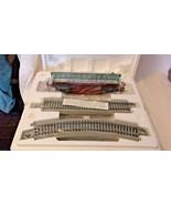 Thomas Kinkade Christmas Express Train  Observation Car Coach and Track ... - $89.10