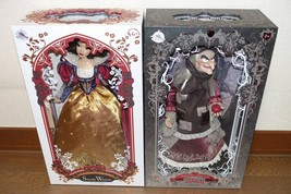 D23 Expo Japan 2018 Snow White & Witch Doll Set Worldwide 1023limited 72... - €731,45 EUR