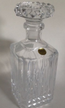 Cristal D' Arques 24% Lead Crystal Decanter With Stoper Made In France Clear New - $79.90