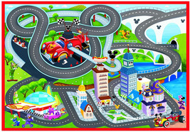 Gertmenian 21643 Racer Game  Mickey Mouse , 5x7 Large, Red - $99.70