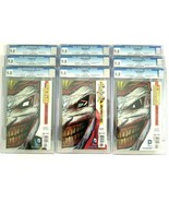 Batman Death of the Family CGC 9.8 Complete Die Cut Set of 9 New 52 Comi... - $1,345.49