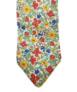 Breuer men's floral 100% cotton hand made in France tie - $44.55