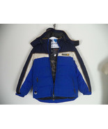 Boy's Blue / Black Zero Xposur Hooded Jacket. M ( 10/ 12 ). 100% Polyester. - $16.83